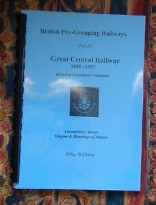 Great Central Railway Locomotive Index GCR
