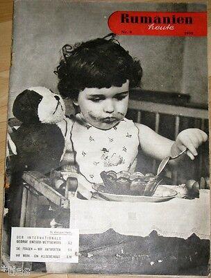 Rumänien heute Zeitschrift Heft 6 1958 Romania Kulturabkommen mit China Sport