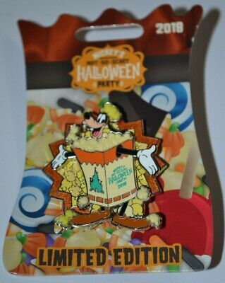 Disney Not So Scary Halloween Party (Disney Goofy Dressed As Popcorn MNSSHP Not So Scary Halloween Party Spinner Pin)