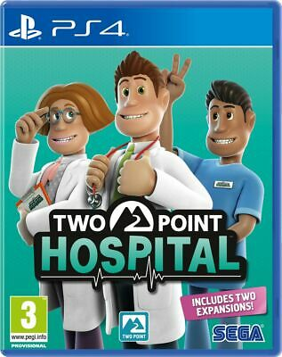 Two Point Hospital (PS4) IN STOCK Free UK P&P New & Sealed