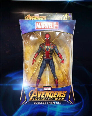Spider Man Iron Spider Avengers Infinity War Marvel Action Figure Toy Fans Gifts