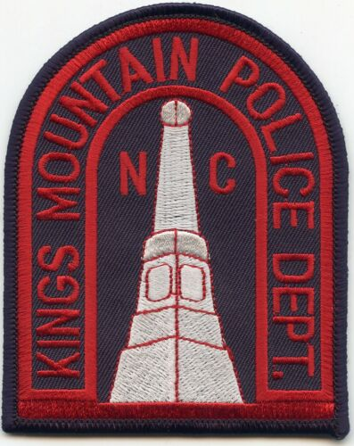 old style KINGS MOUNTAIN NORTH CAROLINA NC POLICE PATCH