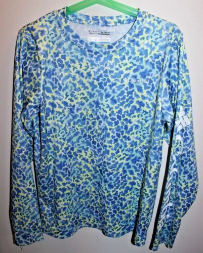 Columbia Omni-wick PFG shirt for camping/fishing  girls size M (10/12)