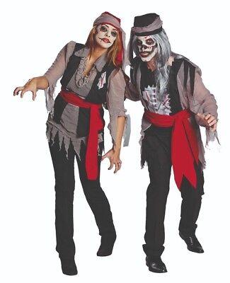 Rubies Halloween Kostüm * ZOMBIE Pirat & Piratin * Gr. 36 bis 58 * Die - Untoten Kostüm