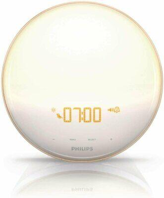 Philips SmartSleep HF3520/60 Wake-Up Light Therapy Alarm Clock - FACTORY SEALED