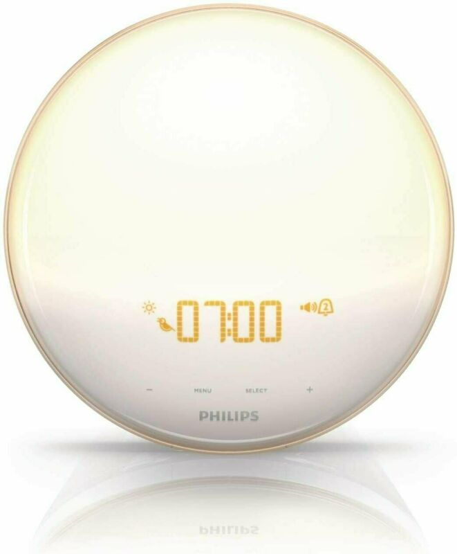 Philips SmartSleep HF3520/60 Wake-Up Light Therapy Alarm Clock - FACTORY SEALED