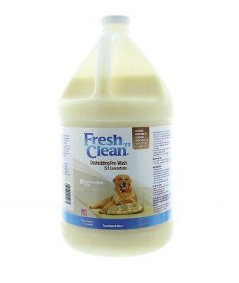 Lambert Kay Fresh 'N Clean Dog Deshedding Moisturizing Pre Wash, Tropical, 1 gal
