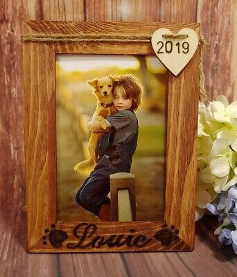 "Pet Memorial Picture Frame Vertical 4""X 6"" Photo Frame Dog Cat Home Decor Gift"