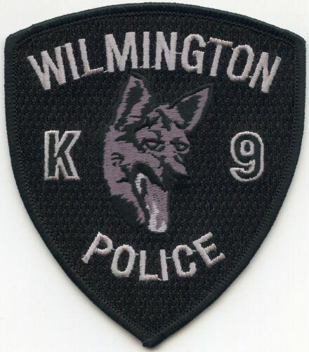 WILMINGTON DELAWARE DE NORTH CAROLINA NC K-9 POLICE PATCH
