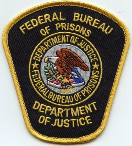 FEDERAL BUREAU OF PRISONS DOJ WASHINGTON DC DOC CORRECTIONS police PATCH