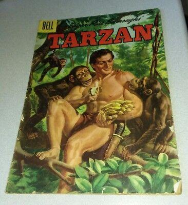 TARZAN #75 golden age 1955 DELL comics RUSS MANNING ART  lot run set collection