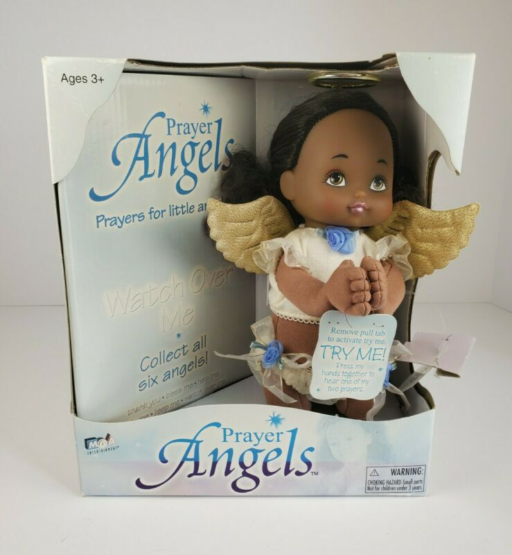 MGA Prayer Angels African American Doll In Original Box - Watch Over Me Prayer
