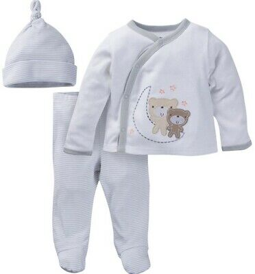 GERBER BABY BOY Newborn Take-Me-Home 3-Piece Layette Gift Set Baby Shower - NWT (Infant Gift Set)