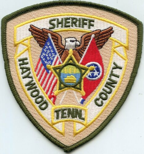 HAYWOOD COUNTY TENNESSEE TN SHERIFF POLICE PATCH