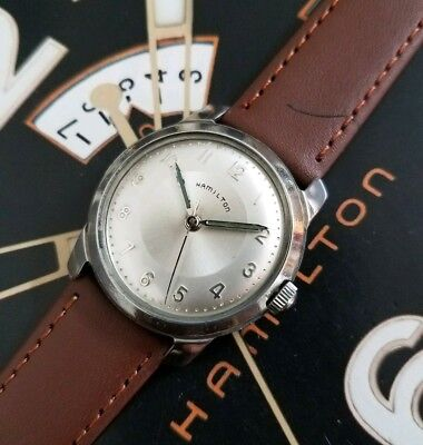 Vintage 1960s Mans Hamilton Fully Serviced Ready To Wear