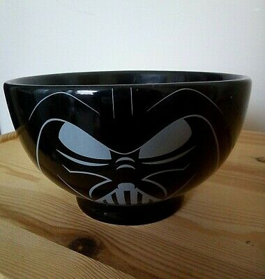Star Wars Darth Vader Black Cereal Bowl FAB!