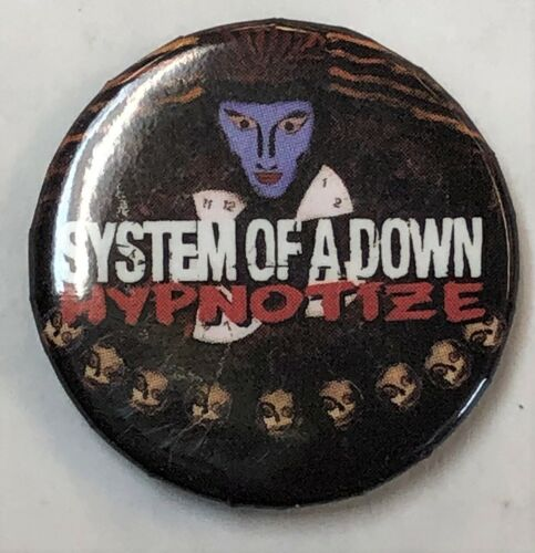 ORIGINAL Promo Button Pin SYSTEM OF A DOWN