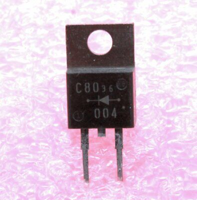 Fuji Erc80-004 Power Schottky Diode 5a 40v - Lot Of 3 10 25