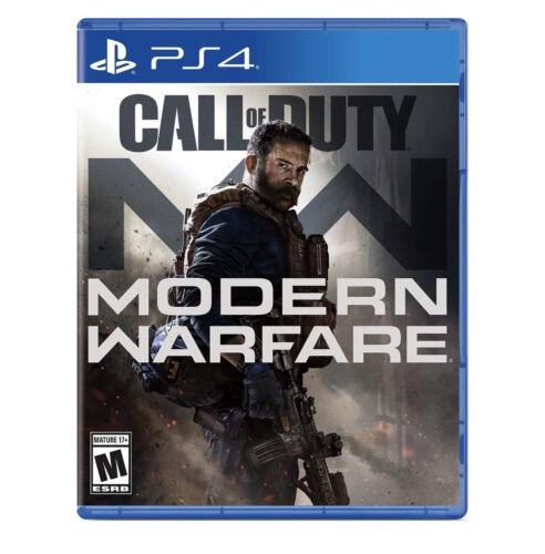 Call of Duty Modern Warfare (PlayStation 4 PS4, 2019)