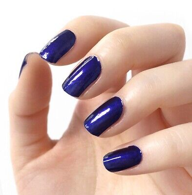 Authentic Incoco Nail Polish 16 Double-Ended Strips by It's a Nail - NAVY