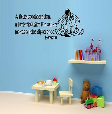 Eeyore Wall (A Little Consideration : Popular Character ~ Eeyore: Wall Decal )