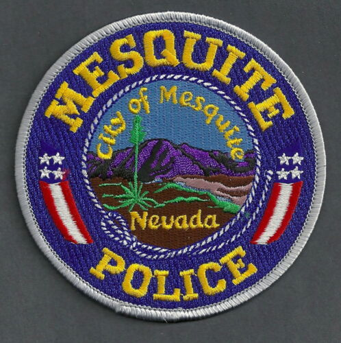 MESQUITE NEVADA POLICE SHOULDER PATCH