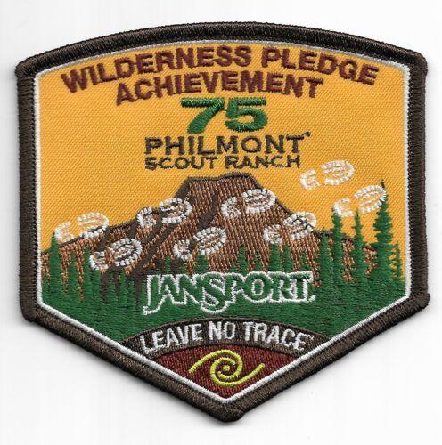 PHILMONT SCOUT RANCH * WILDERNESS PLEDGE ACHIEVEMENT * 75th ANNIVERSARY 2013