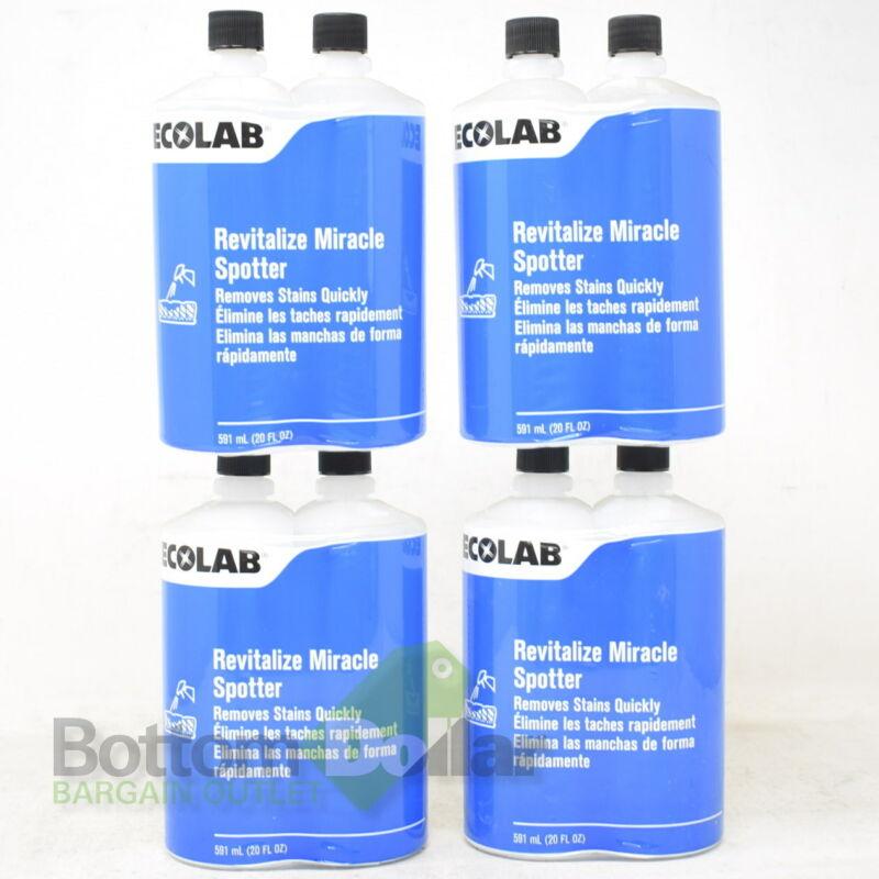 Ecolab 14512 4 Pack Revitalize Miracle Spotter Carpet Cleaner 20 Fl Oz