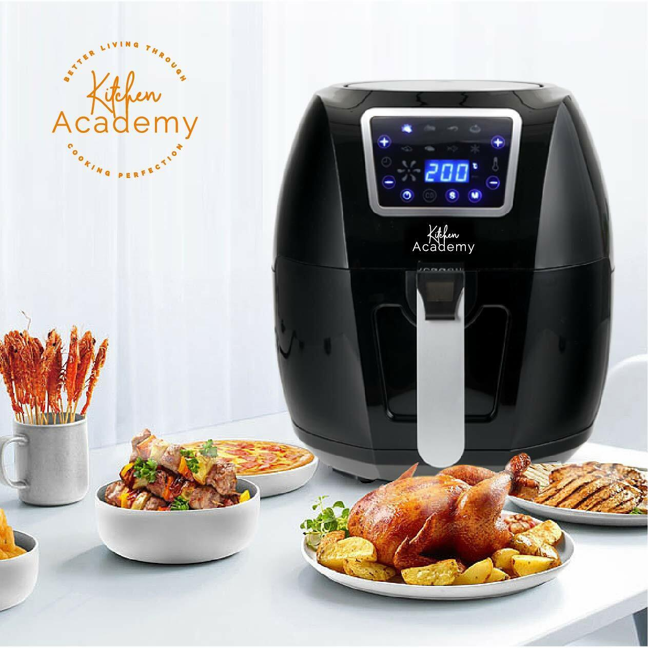 Extra Large Air Fryer Power XL 5.8 Quart Airfryer 1700W Oven