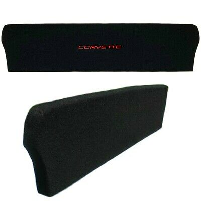 Corvette Red Script Emblem Trunk Compartment Divider C5 98-04