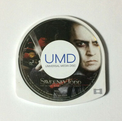 USED PSP Disc Only UMD Video Sweeney Todd The Demon Barber of Fleet Street JAPAN