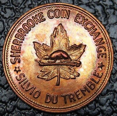 1837-1962 SHERBROOKE COIN EXCHANGE - Quebec - Nice Toning - NCC