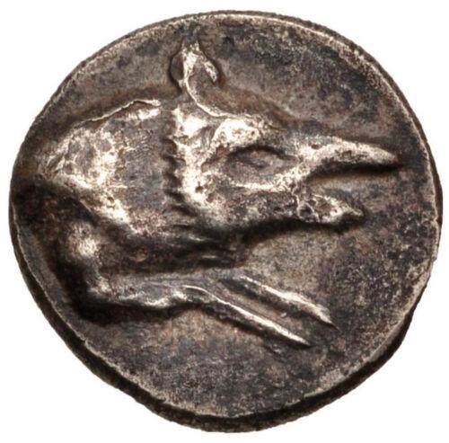 Ancient Bactria–Margiana Archaeological Complex 4th Century BC AR Hemidrachm VF