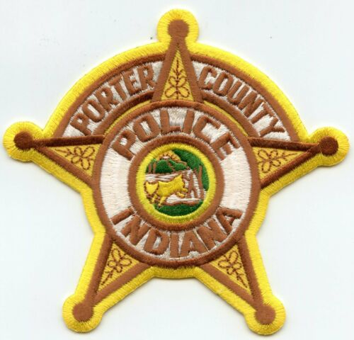 PORTER COUNTY INDIANA IN POLICE PATCH