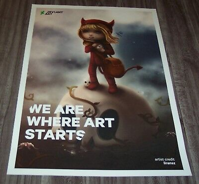 WICKEDLY Drawn by liransz NEW YORK COMIC CON EXCLUSIVE POSTER DEVIANT ART PRINT