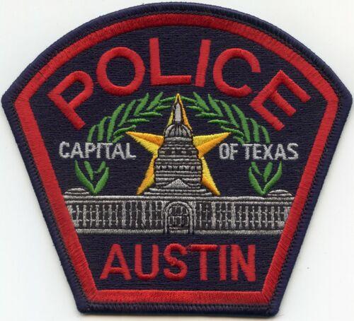 AUSTIN TEXAS TX POLICE PATCH