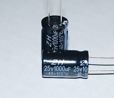 10 1000 F 25 Volt Electrolytic Capacitors Lcd Repair Kit A125