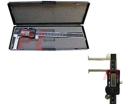 6 150mm Inside Groove Digital Caliper Micrometer Measurement Ruler Scale