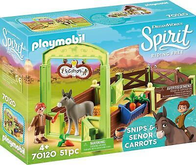 DreamWorks Spirit Riding Free Toys and Playsets By Playmobil - 8 To Choose From