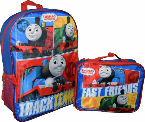 Thomas the Train and Friends Boys School Backpack Bookbag Lunch Box Toy Gift Kid