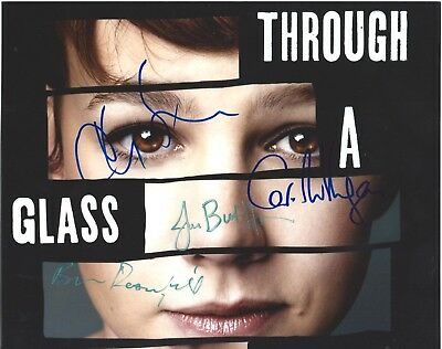 Carey Mulligan, Chris Sarandon & Rosenfield Signed Through A Glass Darkly Photo