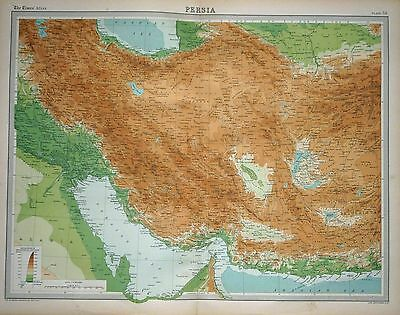 1920 LARGE MAP ~ PERSIA ~ 23