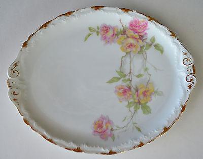 Haviland Baltimore Rose Oval Platter Tray