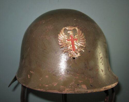 Spanish M26 helmet con ala civil war Spain casque stahlhelm casco elmo 胄 шлем WW