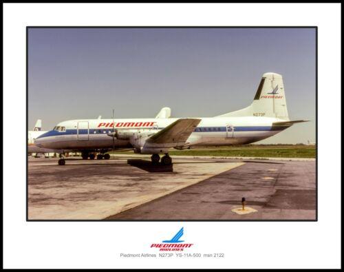 Piedmont Airlines YS-11A-500 11x14 Photo (Y012LGJA11X14)
