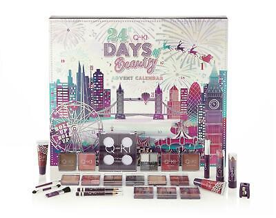 Q-Ki 24 Days Of Beauty Makeup Cosmetics Christmas Advent Calendar London Large