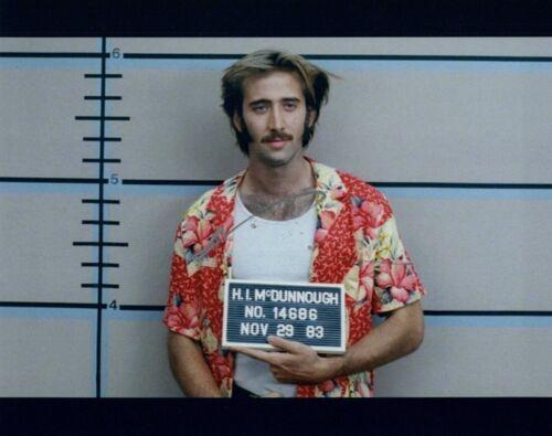 Nicolas Cage Signed Autographed 8x10 Photo Raising Arizona Actor COA
