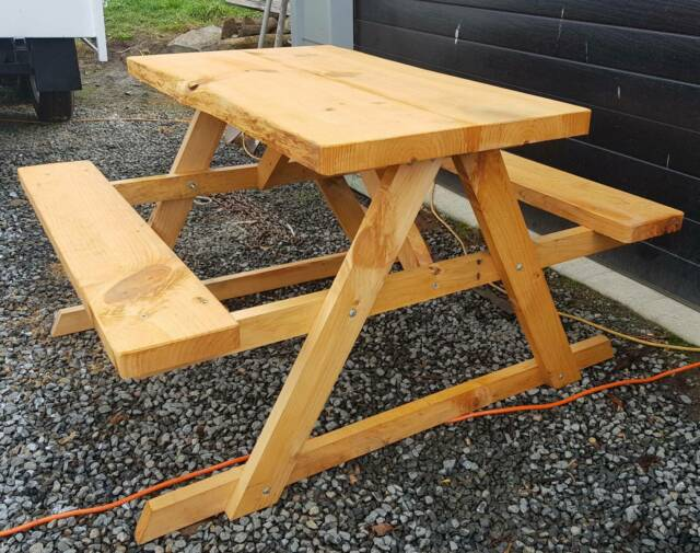 Pine outdoor table 4 seater   Outdoor Dining Furniture ...