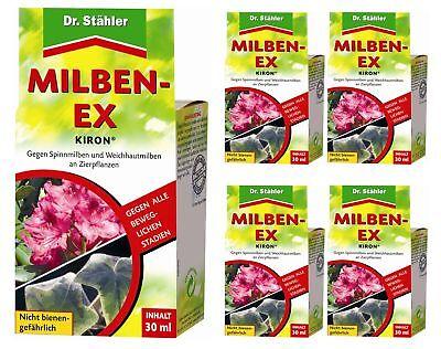 Savings Set: 5 X Dr.Stähler Kiron Milben-Ex, 30 ML