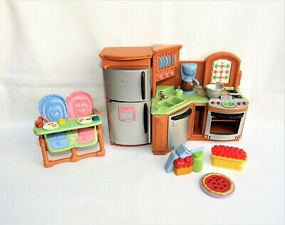 Fisher Price Loving Family Dollhouse Furniture Kitchen Playset
